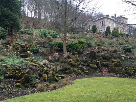 Hawick, UK: Fanatic Grounds and Building