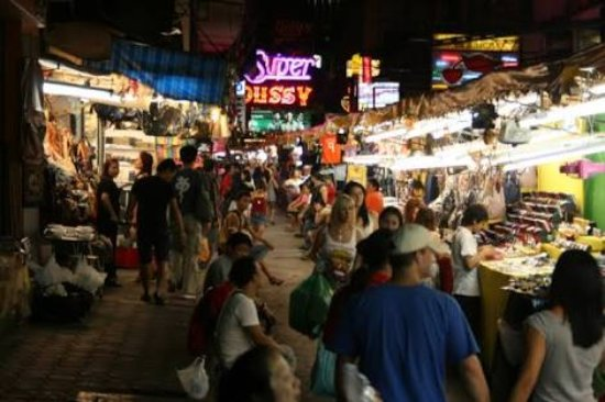 Photo of Tourist Attraction Patpong Night Market at Silom And Surawong Roads, Bangkok, Thailand