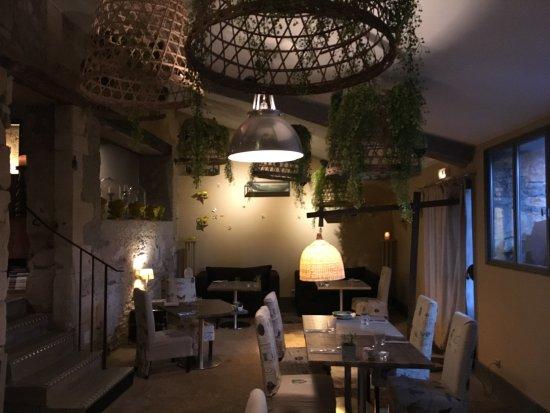 Restaurant Le Garage : Le garage a lumières goult restaurant bewertungen