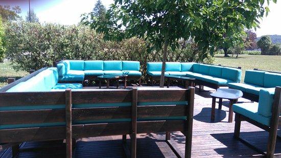 Marsac-sur-l'Isle, فرنسا: Lounge