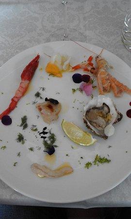Gallicano nel Lazio, Włochy: Antipasto di pesce crudo