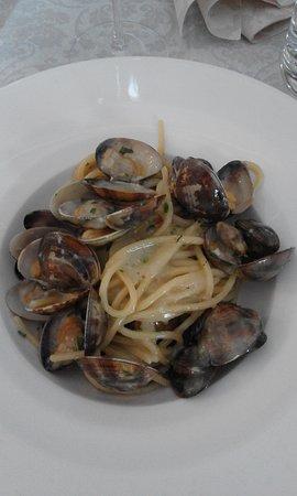Gallicano nel Lazio, Włochy: Spaghetti con le vongole