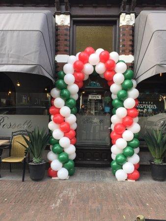 Velp, Hollanda: Ristorante Pizzeria Rossetti