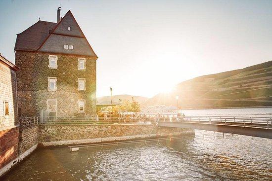 Bingen am Rhein, Germany: Das Zollamt am Rhein