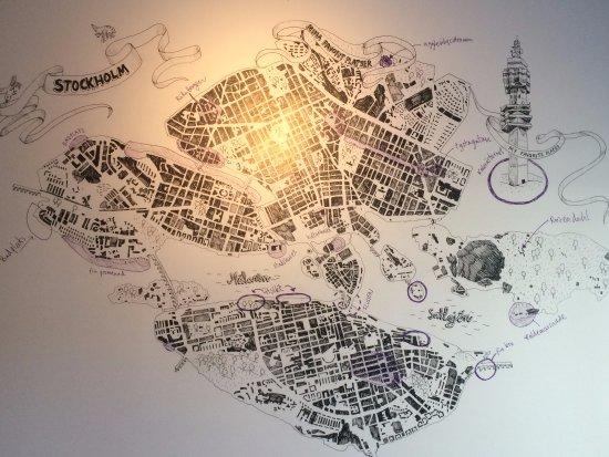 คิสตา, สวีเดน: mappa Stoccolma