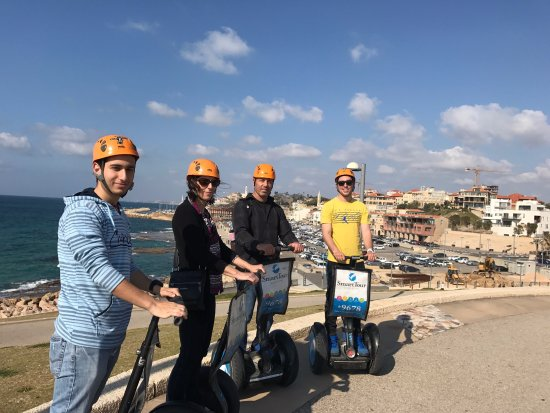 Smart Tour Israel : A great day on the Segway in Tel Aviv