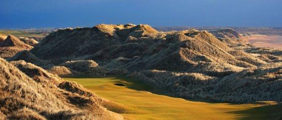 Balmedie, UK: 14th Hole - Trump International Golf Links, Scotland