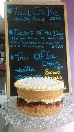 Staplecross, UK: One of our fresh cakes