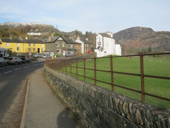 Patterdale, UK: looking towards the White Lion.