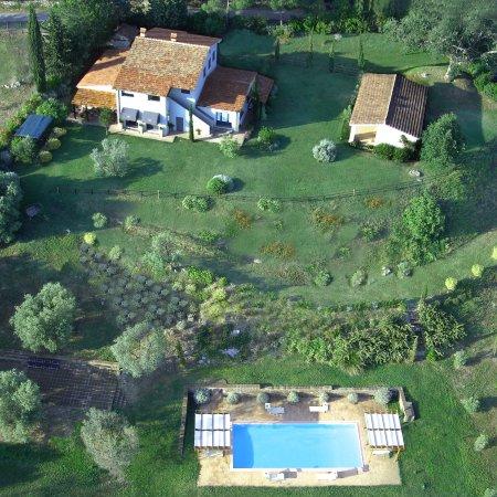 Quercia Rossa Farmhouse: View