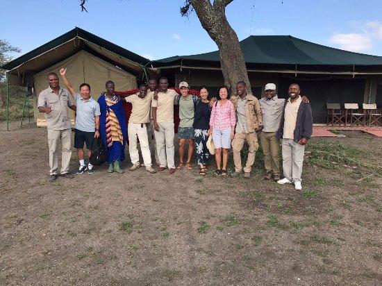 Ang'ata Migration Ndutu Camp: It was sad to say Goodbye!