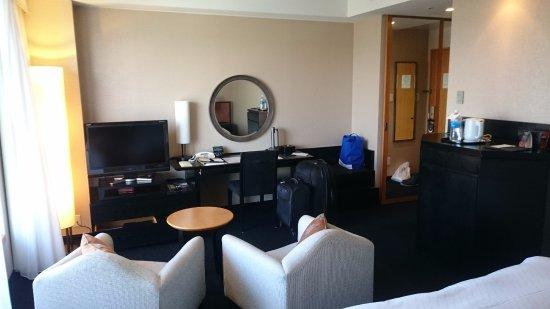 Hotel Granvia Kyoto : Living area of the room!!!
