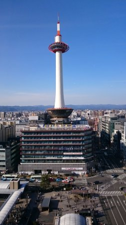 Hotel Granvia Kyoto: View from my Window!!!