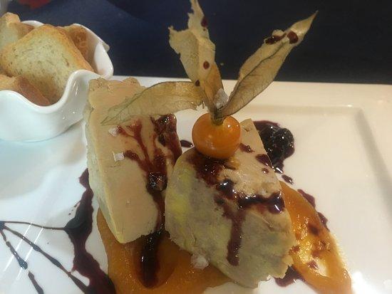 Cabuerniga, Ισπανία: tarrina de foie