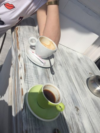 Toller Café, tolle Aussicht!