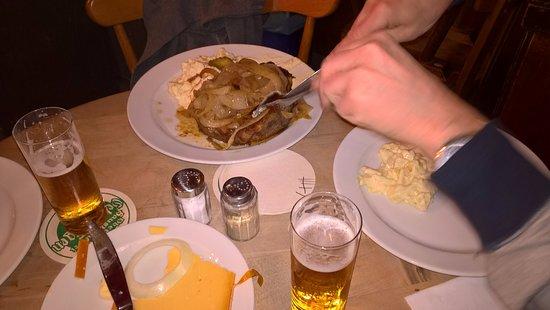 Lommerzheim: Halver hahn & pork chop