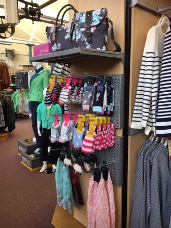 Otterburn, UK: Joules socks and accessories