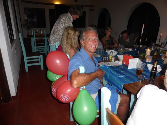 Chintheche, Malavi: 60th Birthday - Beautiful meal including roast beef and a home made birthday cake
