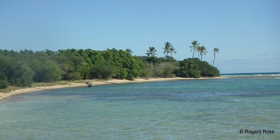 Cades Bay, Antigua: Undeveloped shoreline