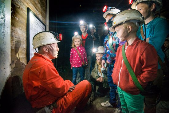 National Coal Mining Museum for England: Underground tour with a miner guide