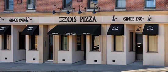 Seymour, CT: Zois Pizza Palace