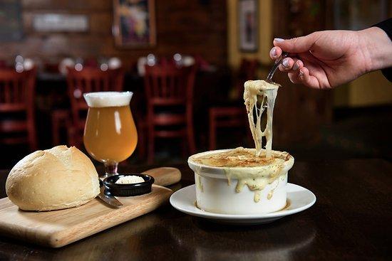 Plainville, CT: French Onion Soup