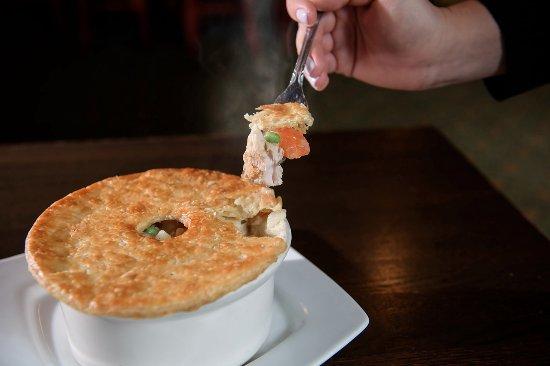 Plainville, CT: Chicken Pot Pie