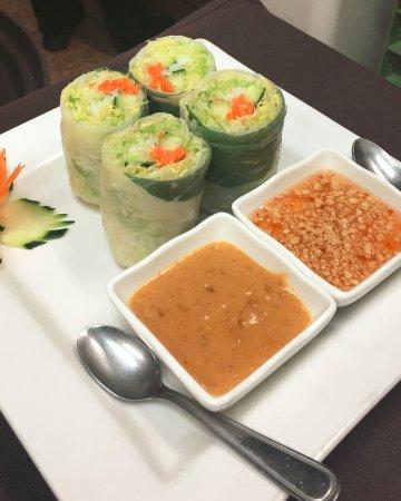 Newburyport, MA: Vegetarian Fresh Roll