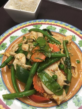 Newburyport, MA: Panang Curry