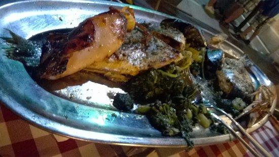 Sukosan, Croacia: piatto di pesce