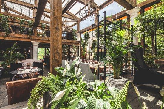 Modus restaurant mosca chamovniki ristorante for Design hotel mosca
