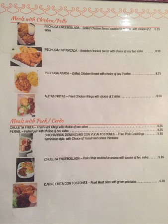 Mifflintown, PA: Menu