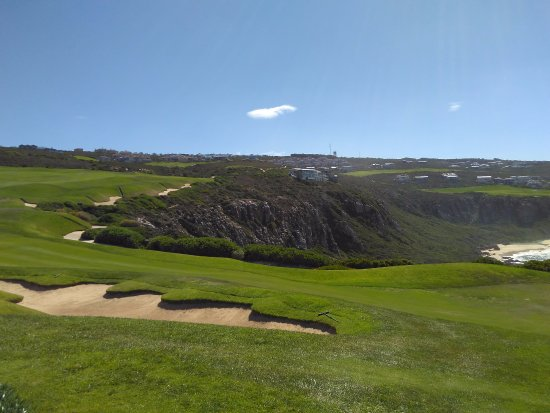 Mossel Bay, Sydafrika: Beautiful view of the golf course