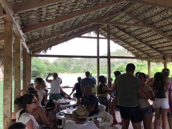 Bayahibe, Republik Dominika: Todos a bailar!