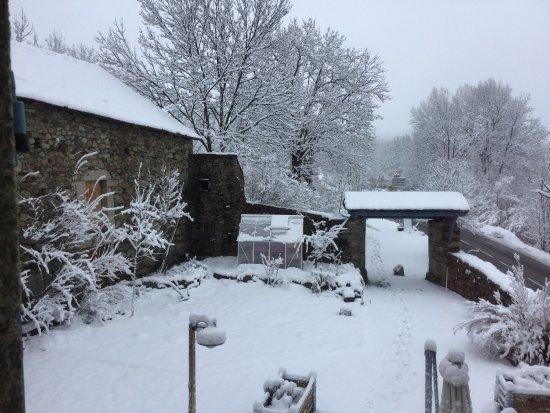 Cal Xandera sous la neige !!! Tout simplement magnifique !!!