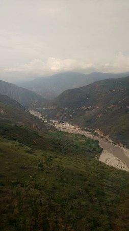 Parque Nacional de Chicamocha: viaje en telesferico