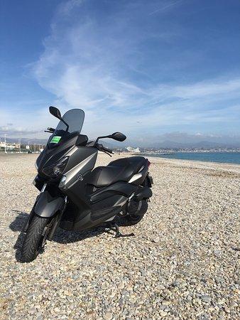Juan-les-Pins, France: Yamaha Xmax
