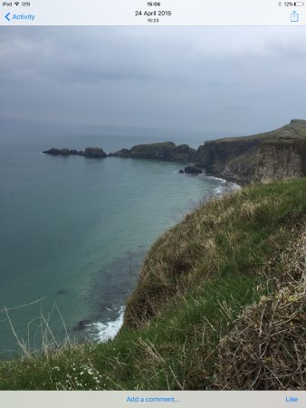 Ballintoy, UK: Walking views