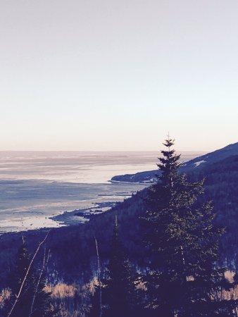 Petite-Riviere-Saint-Francois, Canada: vue du Salon