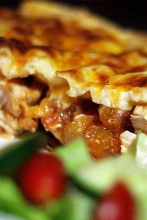 Table View, South Africa: Chicken and Butternut lasagne