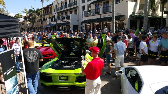 Naples Car Show >> Auto Show Picture Of Fifth Avenue South Naples Tripadvisor