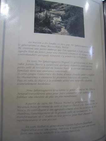 Esterencuby, فرنسا: Résumé de l'histoire de la famille Tihista