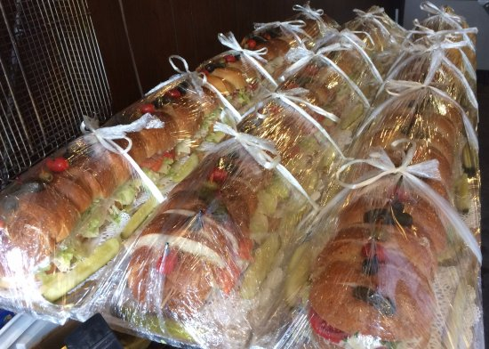 6 Foot Subs! - Picture of Lakeview Deli, Saranac Lake