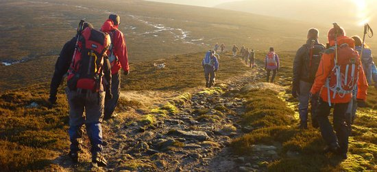 Guided walking in the Peak District, Lakes and Snowdonia