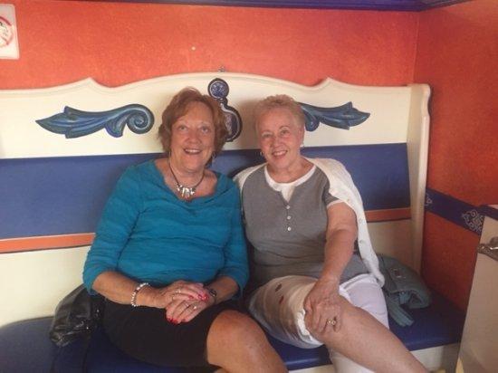 North Port, FL: Margaret and I at Blue Tequla