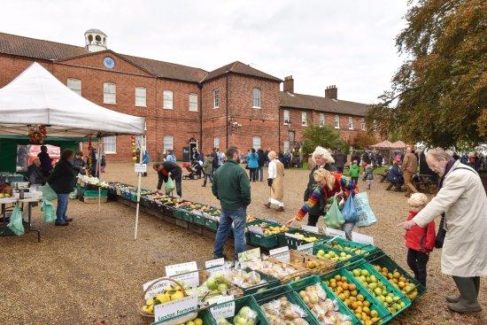 Dereham, UK: Apple Day at Gressenhall Farm and Workhouse
