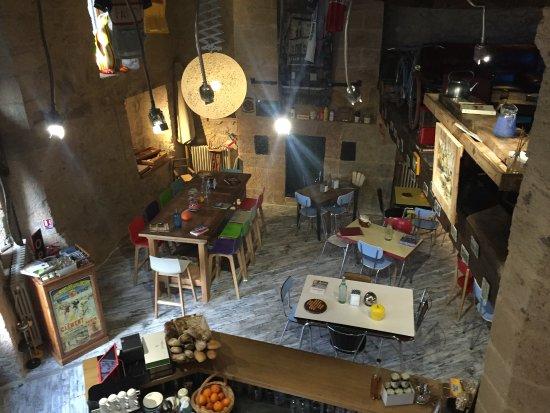 Veloc Cafe: Véloc intérieur