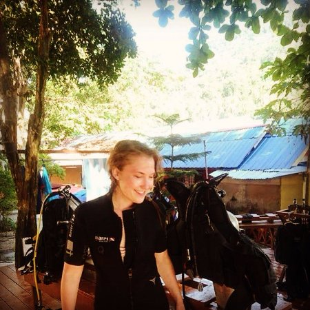 Quiver Dive Team: My first dive ever! Not my last one for sure! Thanks Quiver! <3
