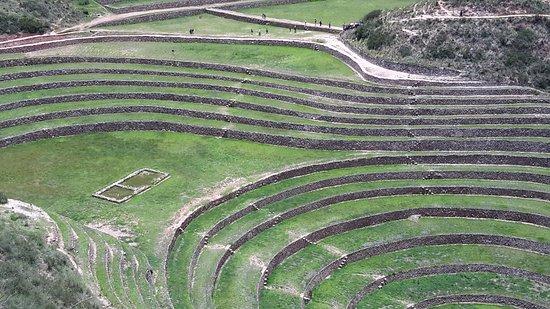 Maras, Peru: Scientific research -agricalture by Inca
