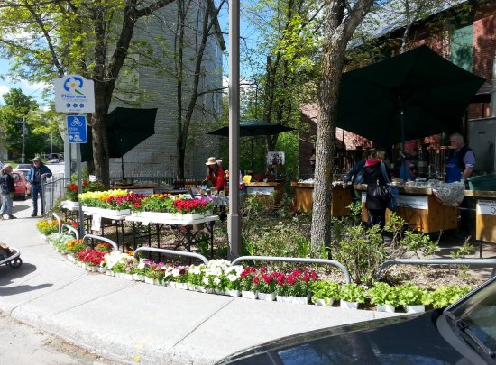 Danville, Καναδάς: Marché du printemps